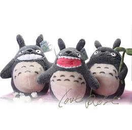 Wholesale Miyazaki Stuffed Animals - 38cm Totoro plush toys lovely HAYAO MIYAZAKI anime cartoon characters stuffed animals dolls children christmas gift 201509HX