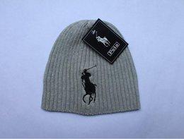 Wholesale Mens Sports Beanies - Mens Winter Autumn cap Set of head Hat outdoor skiing Keep Warm Hot sports beanie fall hats Black Gray Free shipping 2018