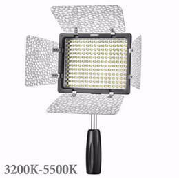 Wholesale Yongnuo Pro Led Video - New YONGNUO YN160III YN-160III Pro LED Video Light Adjustable Temperature 3200-5500k for Canon Nikon Sony