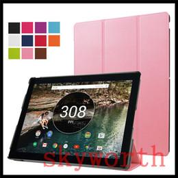 Wholesale Google Nexus Slim Case - Ultra Slim Folding leather case Folio Flip Smart Cover Stand for Google Pixel C 10.2 inch Tablet PC Nexus 9