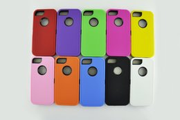 Wholesale S3 Hybrid Silicon Case - Hot rugged case Robot Hybrid Plastic & Silicon Hard Case Cover 3 in 1 For iPhone 4 5 5C 6 6 plus ipod touch 4 5 galaxy S3 S4 S5 Note 3 4