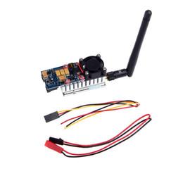 Wholesale Video Transmitter 1w - High Quality 5.8G 1000MW 1W TS581000 Video AV Audio Wireless 8CH Transmitter Sender for FPV New