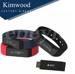 Wholesale Touch I5 - Original iwown I5 Plus Smart Bracelet Bluetooth 4.0 Waterproof Touch Screen Fitness Tracker Health Wristband Sleep Monitor Smart Watch