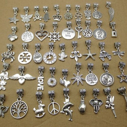 Wholesale Packing For Bracelet - 100 styles pandora pendant charms good for your DIY bracelet, necklace,etc pack of 100 pcs