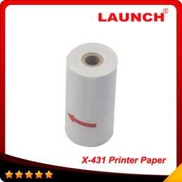 Wholesale X431 Master Gx3 - LAUNCH X431 GX3 Master X431 IV Printing Paper X-431 printer paper Top selling Free Shipping