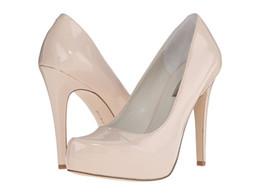 Wholesale Cheap Plastic Pump - Fashion Bridal Shoes Cheap Modest Sexy New Arrive Wedding Shoes Pumps Sexy Slip On High Thin Heels Hot Sale Plus Size Party Shoes