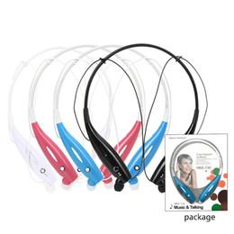 2018 Hot HBS-730 Auriculares Bluetooth inalámbricos Deportes Auriculares Bluetooth Auriculares con micrófono Auricular para Samsung iPhone desde fabricantes