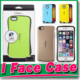 Wholesale I Face Covers - 2015 Hot iface Case For iphone 6 6 plus 4 for Galaxy S6 S6 edge S5 NOTE3 NOTE4 PC+TPU Case Colorful i face Back Cover Cases High Quality