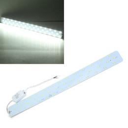 Placas de condutor de luz led on-line-Atacado-21W Branco 2100LM DIY LED Painel de Teto Lâmpada de Luz Board + Driver 85-265V