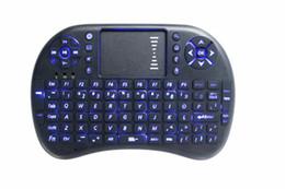 mini htpc tastiera senza fili touchpad Sconti 2016 NUOVA Tastiera Wireless Rii Mini rii i8 Air Mouse gioco Telecomando Touchpad Tastiere palmari per TV BOX Android Smart HTPC PC