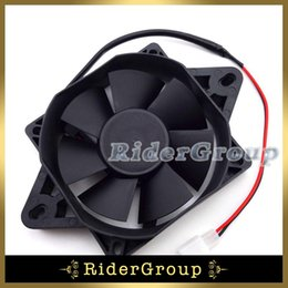 Wholesale Cooler Kart - Wholesale- ATV Electric Radiator Thermal Cooling Fan For Chinese 200cc 250cc Quad Go Kart Buggy 4 Wheeler UTV