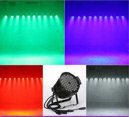 Dmx led par cina online-Porcellana 54 pz 3 watt rosso verde blu 3 in 1 lampada perline LED Par può illuminare per la vendita