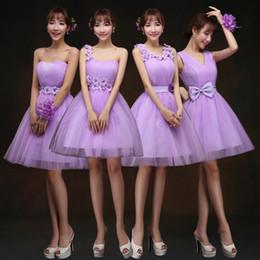 64ac9c009297 Lace Wedding Dresses Bridesmaid Dress Short Paragraph Shoulder Strap Pink  SIster Group Bridesmaid Wedding dress