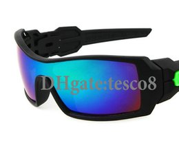 Wholesale Super Price - Low price Super Cool Men's Fashion Sunglasses Black frame Resin Siamese lens Outdoor sports Wind Goggle Sun Glasses High quality Eyewear