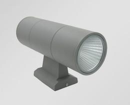 2019 led veranda licht leuchten 20W imprägniern LED-Wand-Licht-Hall-Portal-Wandleuchter-Dekor-Befestigung im Freien IP65 oben und unten Wand-Lampe lamparas LED-Lampe AC85-265V rabatt led veranda licht leuchten