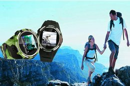 Wholesale Black Kids Mp3 - TW320 Waterproof Sports Smart Watch Phone MP3 Bluetooth 2MP Camera compass Wrist Phone for Swimming and Diving