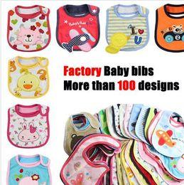 Wholesale Cheap Baby Girl Bibs - New baby bibs & Burp Cloths Baby Feeding baby clothes baby towels cottonBaby Accessories boys girls Waterproof bib Cheap 0136