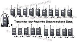Wholesale Système de guide de voyage sans fil Takstar WTG Fréquence UHF canaux sélectionnables Portée de fonctionnement m Transmetteur récepteurs