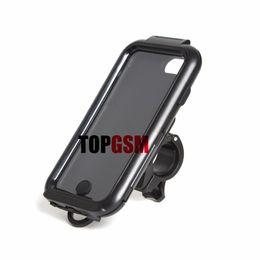 Wholesale Galaxy S3 Bike Mount - iPhone 6 Motorcycle Bike Mount Holder +Waterproof Tough Hard Mount Case for iPhone 5s Galaxy S3 Galaxy S4 iPhone 6 Plus Free Shipping