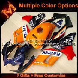 2019 cbr125r verkleidungen 23colors + 8Gifts REPSOL Karosseriemotorradhaube für Honda 2005 CBR125R 2002-2007 CBR 125R 02 07 ABS Plastikverkleidung günstig cbr125r verkleidungen