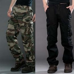 Wholesale Men S Satin Pants - Autumn Winter New army fashion hanging crotch jogger pants patchwork harem pants men crotch big Camouflage pants trousers
