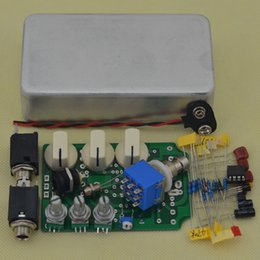 Wholesale Kit Diy Pedal Guitar - DIY Overdrive Guitar Effect Pedal True Bypass Electric guitar stompbox pedals OD1 Kits AL