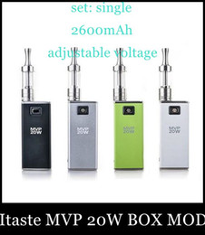Wholesale Beat Boxes - 2015 Top Fashion Sale Innokin Itaste Mvp 20w Box Mod Authentic Variable Voltage Wattage Battery with Oled Display Beat Dna30isticktz188