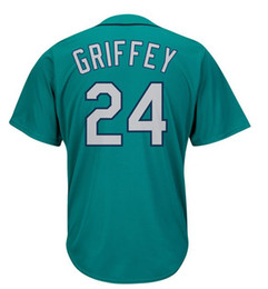 Wholesale Cool Boys Shorts - Ken Griffey Jr Jersey kids Cool Base Throwback Stitched youth Baseball Jerseys Mix Order