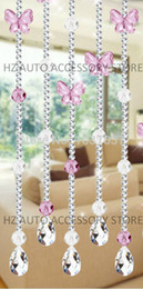 Wholesale Hotel Beads Decoration - Free shipping 10 meters the butterfly and 32 section of Acrylic bead curtain entranceway partition indoor decoration wedding centerpieces