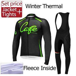 Wholesale Mountain Bike Fleeces - Men winter thermal fleece cycling jersey Winter Thermal Fleece Cycling Jerseys Mountain Bike Cycling Clothing Bicycle Cycle Clothes
