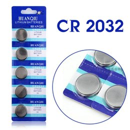 Wholesale Button Calculator - Brand New 5PCS CR 2032 Cell Button Coin Battery Watch 3V Toys Calculator