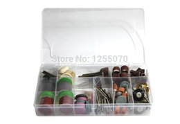 Wholesale Dremel Mini Rotary Tool - 161Pcs Polishing Accessories Bit Set With A Box Suit Mini Drill Rotary Tool & Fit for Dremel with Free Shipping order<$18no track
