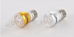 Wholesale E14 Led Candel Bulb - candle lamp AC85~265V E27 E14 E12 9W Warm Cool White LED Candel Light LED bulb lamp LED spotlight