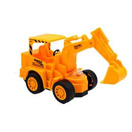 Wholesale Excavator Children Toy - Electric Excavator Music Cars for Boys Flashing LED Light Kids Children Developmental Music Car Toy Birhtday Gift For Baby Boy
