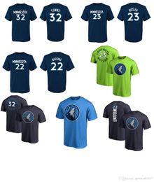 Wholesale Names T - 2017 NEW SEASON USA basketball Minnesota 32 TOWNS 23 butler 22 WIGGINS 1 JONES Timberwolves NAME AND Number T-Shirt