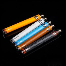 Wholesale Ego Stylish - E Cigarette Vision Stylish Battery 1350mAh Variable Voltage 3.3V To 4.8V Ego Thread E-cigarette Mod Original Vision Battery 2014 Newest E Ci