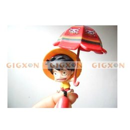 Wholesale Dust Proof Ear Plug - Wholesale-9pc One Piece Cartoon Character Anti Dust Proof Ear Cap Plug