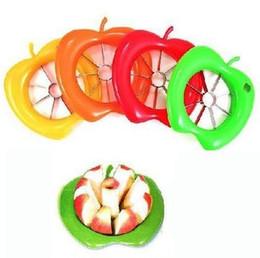 Wholesale Easy Slicer - Hot Selling Plastic Steel Corer Slicer Easy Cutter Cut Fruit Knife Cutter For Apple TOP72