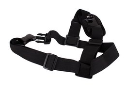 Wholesale Gopro Adapters For Chest Mount - Shoulder Strap for Gopro HD Single Shoulder Strap Mount Chest Harness Belt Adapter For GoPro Hero 3 4 Camera 50pcs lot
