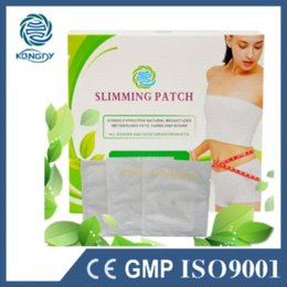 Wholesale Diet Patches - Health Care Body Beauty Fat Burner 60 Pcs Lot Slimming Navel Stick Slimming Patches for Diet Weight Loss