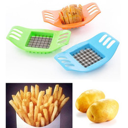 Wholesale Vegetable Cuts - 2017 hot French Fry Potato Chip Cut Cutter Chopper Chipper Blade Vegetable Home Fruit Slicer