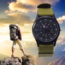 Wholesale Shark Brand Wrist Watch - Fashion Watch Men Brand New Shark Men's Sport Quartz Wrist Military Watch Luminous Slim 24Hrs Analog Nylon Hot Sale