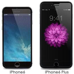 Canada Pour iphone 6s Protecteur D'écran En Verre Trempé Pour Iphone 8 7 Plus X 5S Tactile 6 5 9 H Anti Scratch 0.26mm Vente Offre