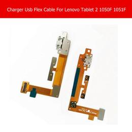 Зарядное устройство lenovo таблетка онлайн-Wholesale- Genuine USB Charging Connector Flex Cable For Lenovo Yoga tablet 2 1050F 1051F USB Charger Flex Cable Blade2_10_usb_fpc_h301