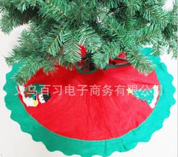 Wholesale Noel Christmas Ornament - Wholesale- 90cm Christmas tree skirt Christmas ornament new year enfeites de natal beautiful noel