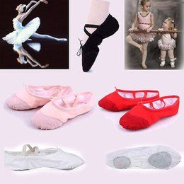 Wholesale Girls Dancing Shoes - Dance Girl Ballet Dance Shoes For Girls Ladies Anti-Slip Soft And Comfortable 5 Colors Ballet Dance Shoes Children Shoes Girls Dance shoes