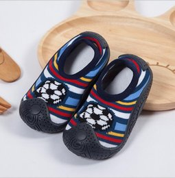 Wholesale Socks Baby Rubber Soled - Newborn Spring Infant Socks Anti Slip Baby Boy Socks With Rubber Soles Baby Girl lovely Socks