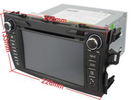 Wholesale Corolla Radio Bluetooth - OEM high quality for Toyota Corolla In Dash car dvd GPS navigation(free map) car DVD player Ipod bluetooth Digital TV rear camera