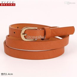 Wholesale Little Girls Fashion Belts - Wholesale-Fashion Accessories Little girl Small Floral belt leather belts waistband Girdle All match nice gift for women ladies Children