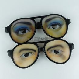 Wholesale Funny Eye Glasses - New Novelty Party Eyeglasses Nerd Eye Glasses Party Eyewear Funny Stage Prop Cheap Wholesale Glasses Shop